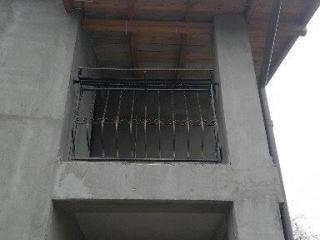 Balustrade fier forjat voluntari
